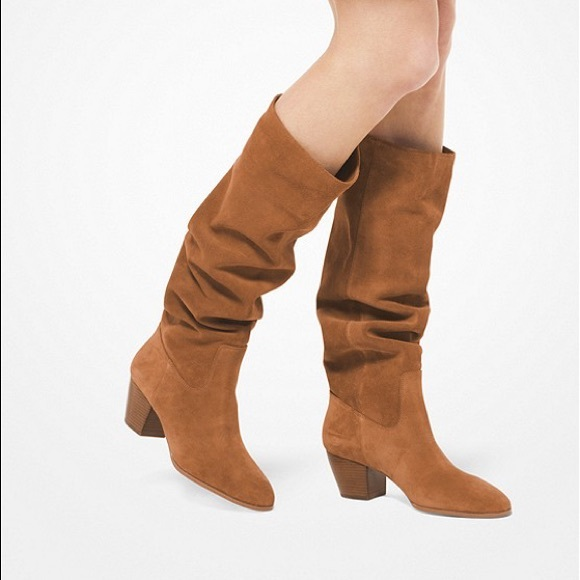 Michael Kors Suede Avery Boot